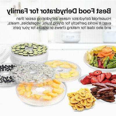 Food Fruit Dehydrator Spice Dehydration Machine 5 Stackable Tray