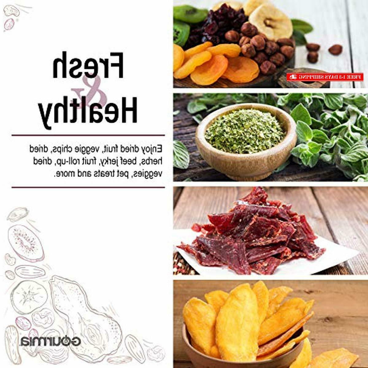 Gourmia GFD1950 Countertop Food Dehydrator 9 Shelves Digital