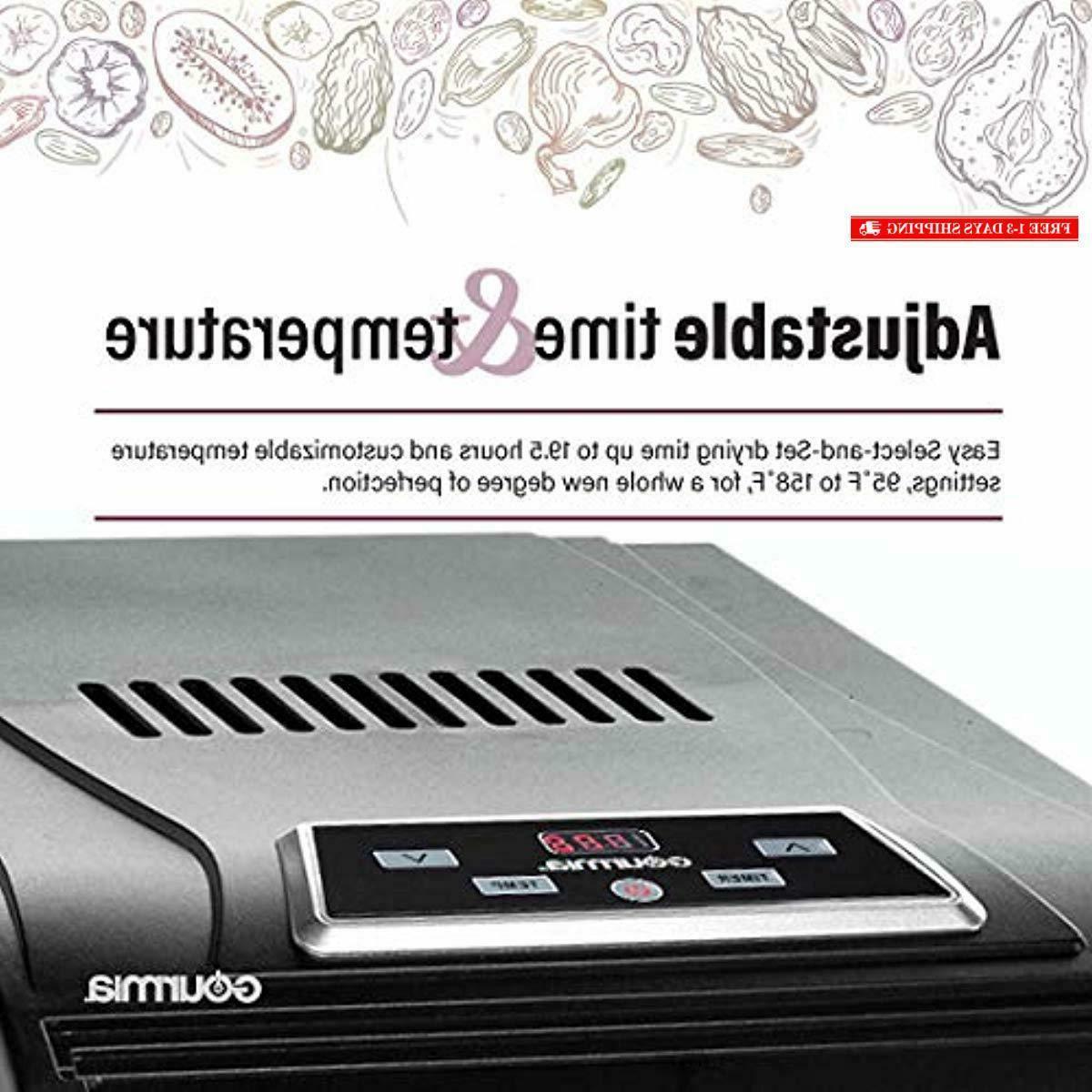 Gourmia GFD1950 Premium Food Shelves Digital