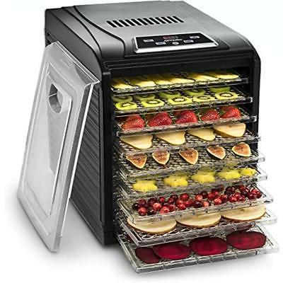 gourmia gfd1950 premium countertop food dehydrator drying