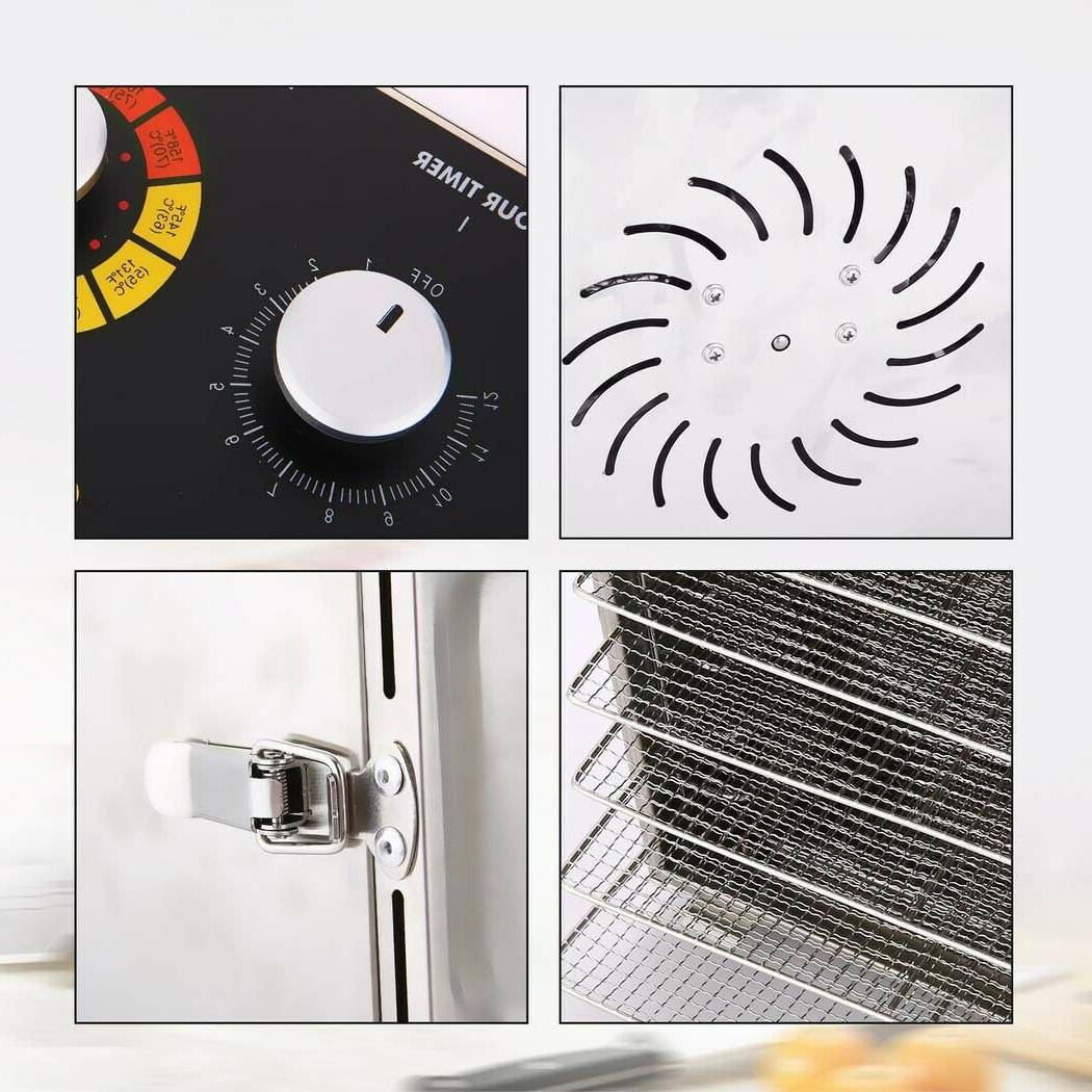 HOMDOX Food Dehydrator Fruit Vegetable Meat Drying A