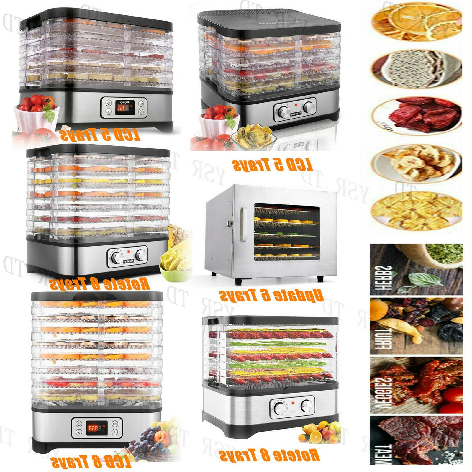 HOMDOX Food Dehydrator Tier Fruit