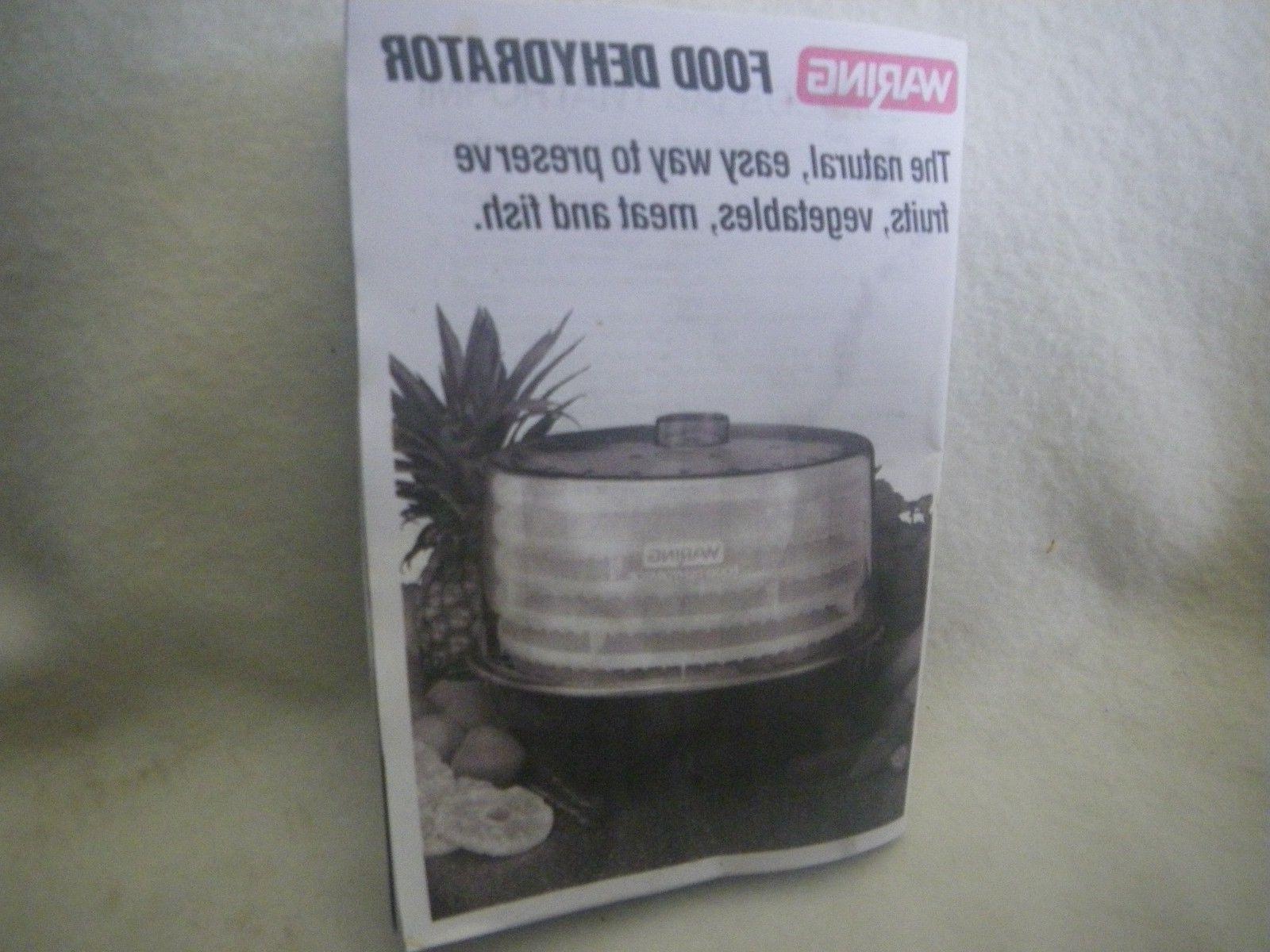 instructions for food dehydrator beef jerky maker