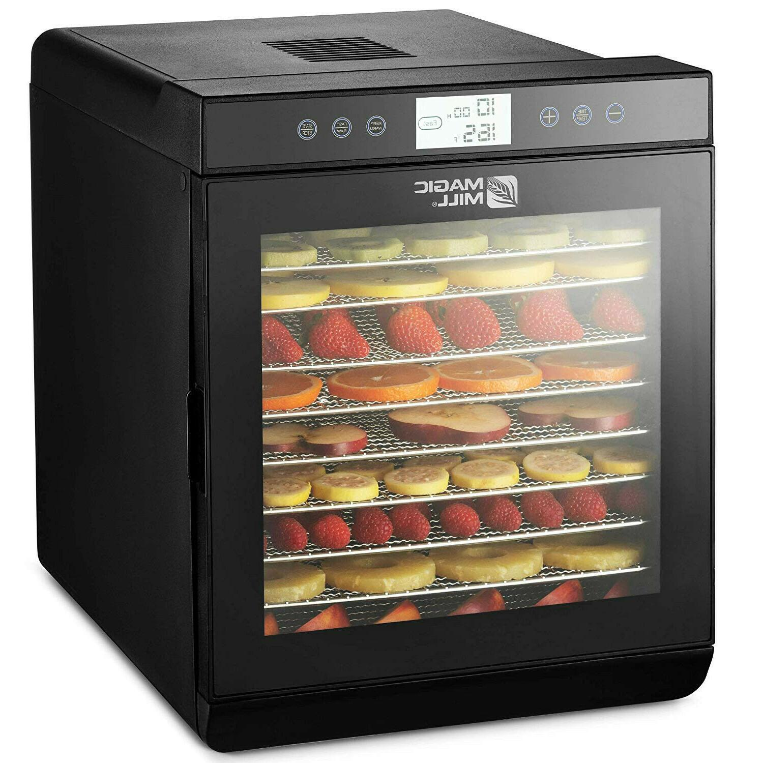 magicmill food dehydrator 10 stainless steel tray