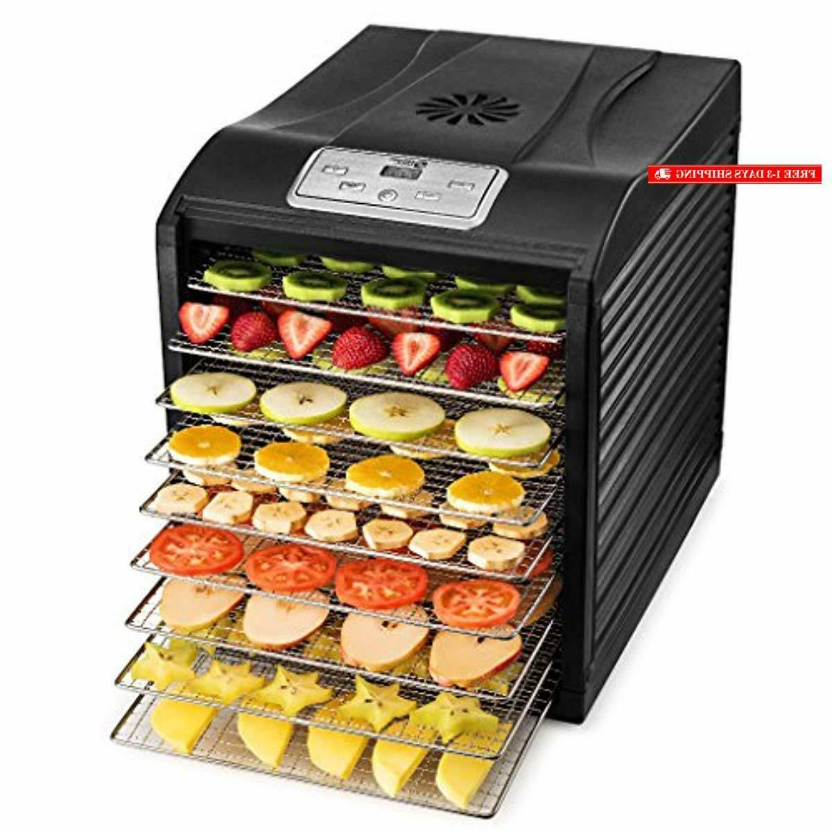 mill professional food dehydrator 9 stainless steel