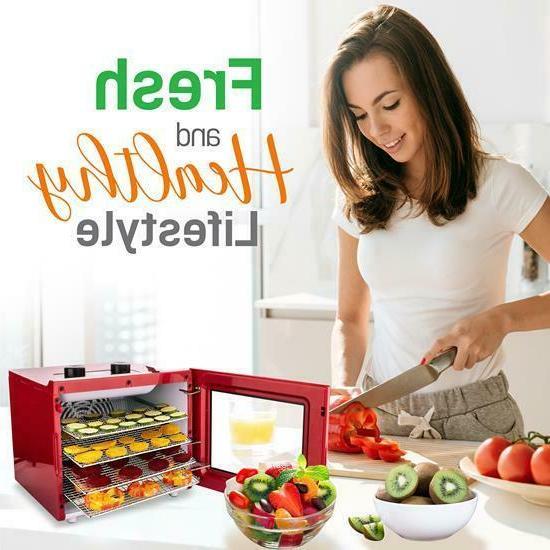 NutriChef Food Dehydrator Machine Digital