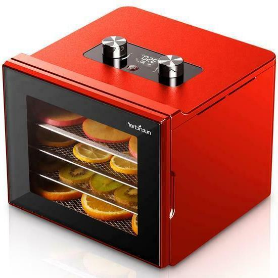 ncdh4s electric countertop food dehydrator machine