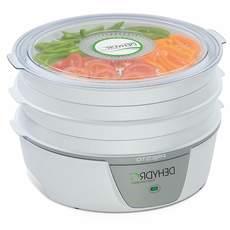 Presto Electric Food Dehydrator - White - MODEL  06300 - SPA