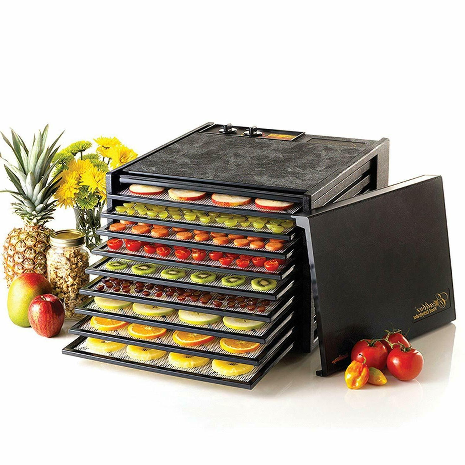 new 3926tb 9 tray electric food dehydrator