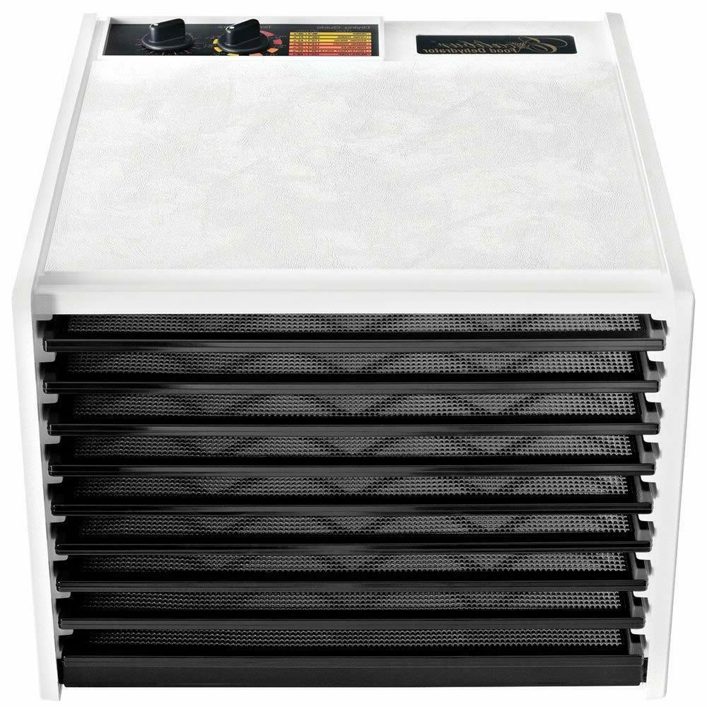 Electric Dehydrator w/Temp Settings &