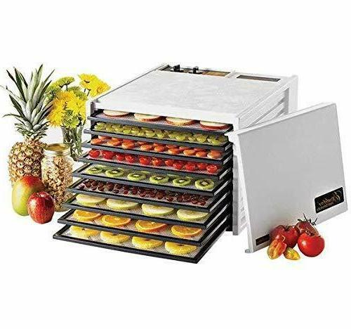 new 3926tw 9 tray electric food dehydrator