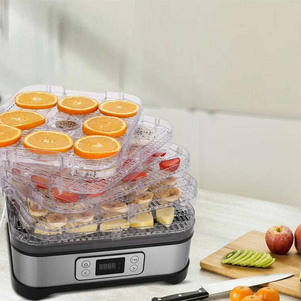 NEW Dehydrator Food Preserver Fruit &