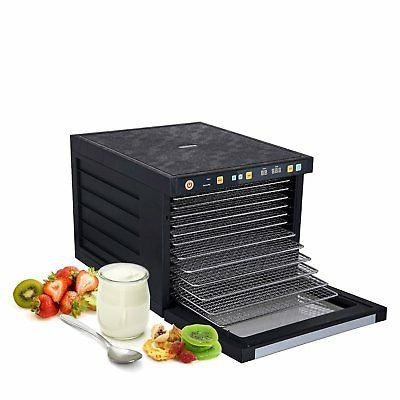 new biochef food dehydrator 12 s steel