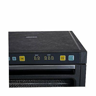 - 12 S/Steel trays with timer & modes -