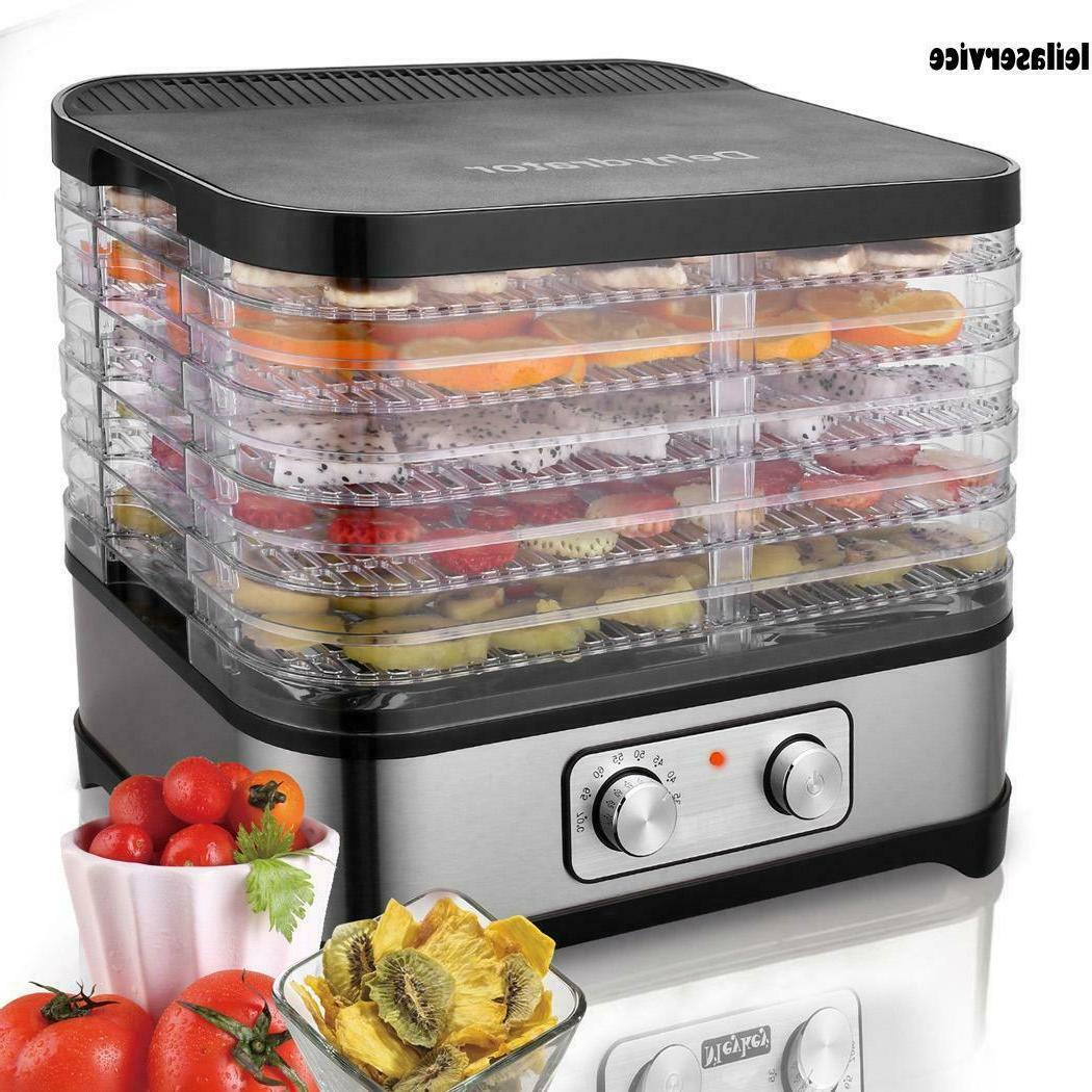 NEW 8Tier Electric Food Dehydrator Machine Fruit Dryer Beef
