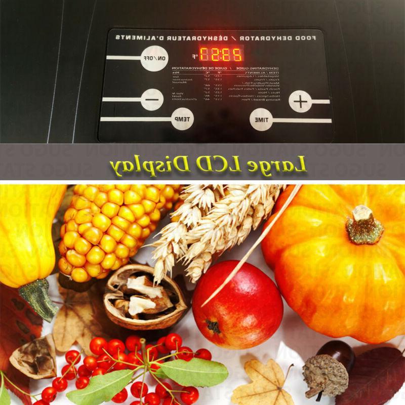 KMK 10 Tray Food 800W Dryer Preserve Jerky Meat