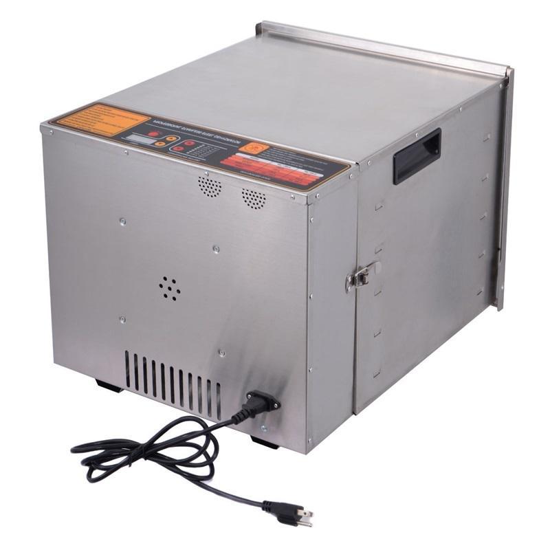 COSTWAY Professional <font><b>10</b></font> <font><b>Stainless</b></font> Food Fruit Dryer Machine