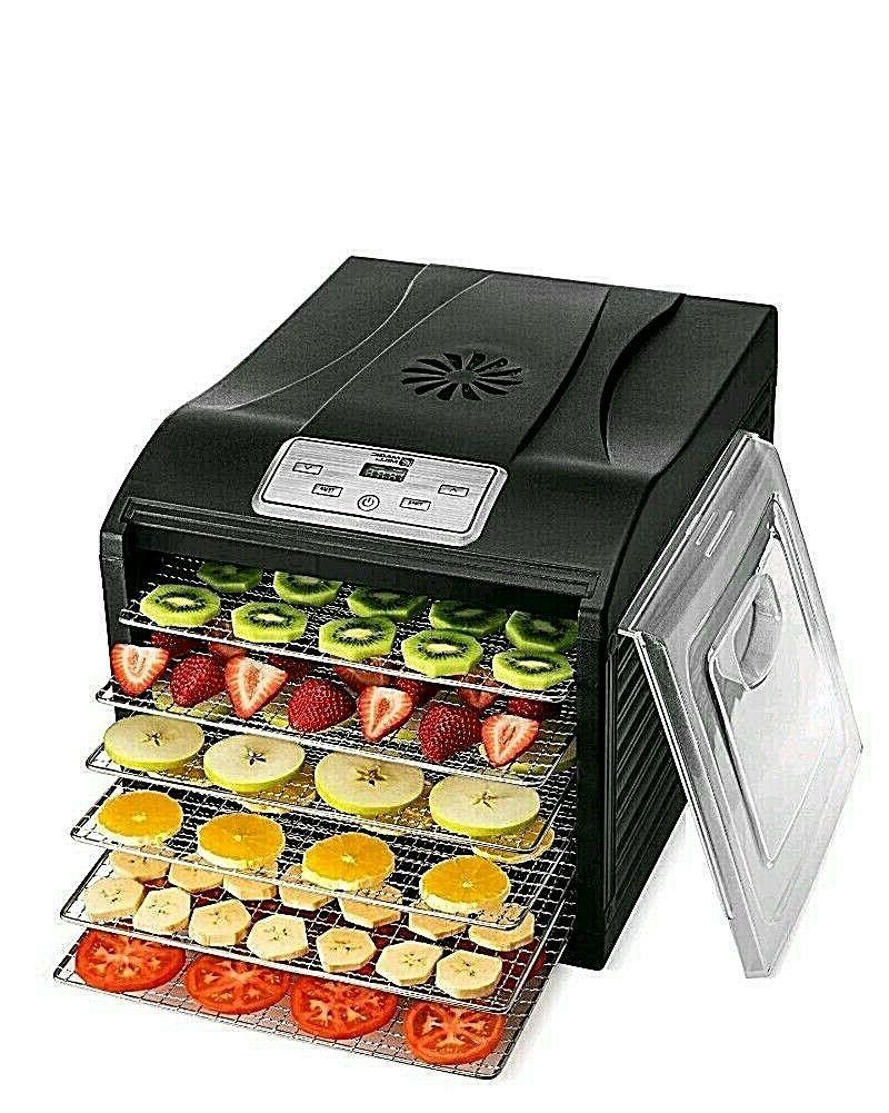 professional food dehydrator machine 6 stainless steel