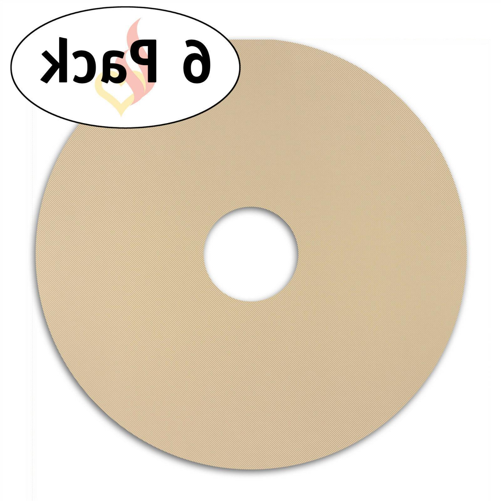 Homey Round Reusable Stick Teflon Food Dehydrator x 12.5-Inches