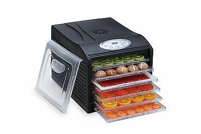 "Samson ""Silent"" 6 Tray Dehydrator with Digital Controls SB10"