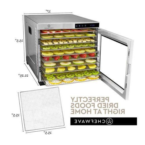 ChefWave Pro Food Dehydrator with Drying Racks