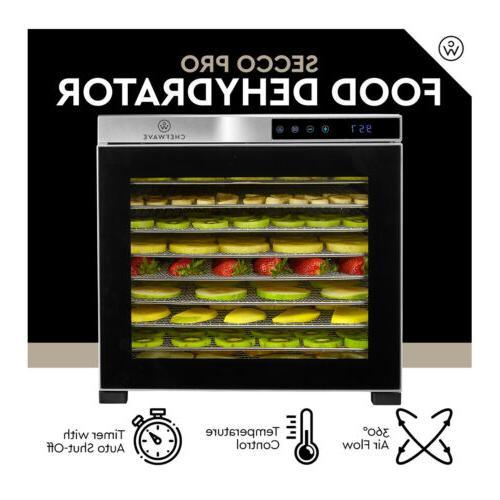 ChefWave Secco Pro Food Dehydrator Drying Racks