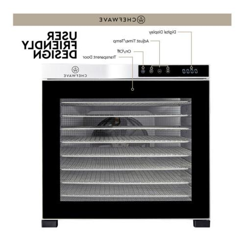 ChefWave Food Dehydrator Drying Racks