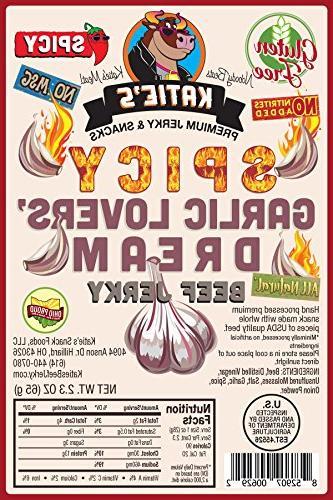 spicy garlic lovers dream beef