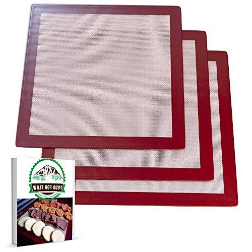 square silicone excalibur dehydrator sheets