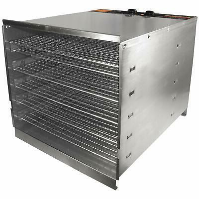 stainless steel food dehydrato