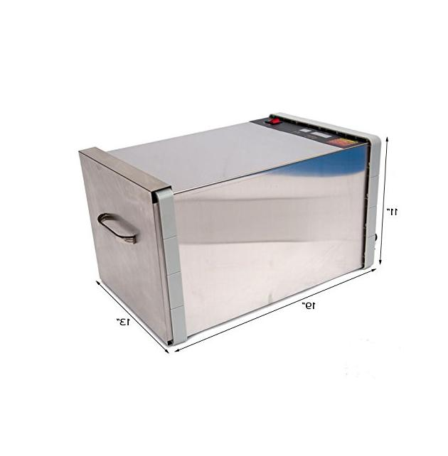 Stainless Steel Fruit Dehydrator with Timer