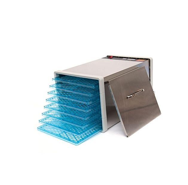 630W 8 Steel Dehydrator Plastic