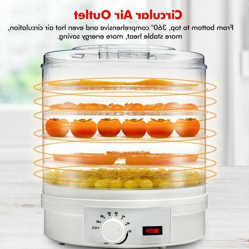 US 5 Dehydrator Fruit Vegetable Dryer Machine
