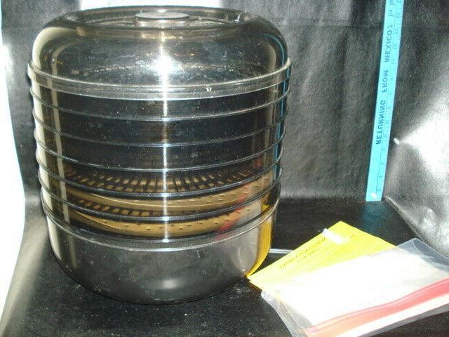 vintage 6 tray food dehydrator
