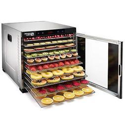 Large Food Dehydrator Commercial Pro 10 Tray Beef Jerky Frui