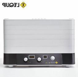 LEQUIP Food Dehydrator Multi Food Dryer LD-918B 6 Trays 220V