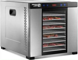 Magic Mill Commercial Food Dehydrator Machine | 11 Stainless