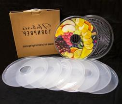 NATURE'S TURNPREP FOOD DEHYDRATOR DELUXE EXTEN KIT 2 TRAYS &