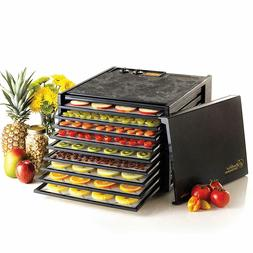 NEW. Excalibur 3926TB 9-Tray Electric Food Dehydrator, +Guid