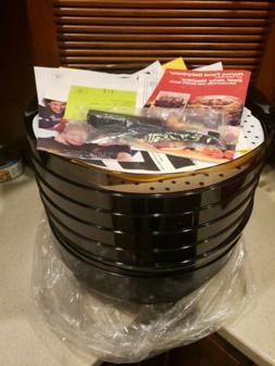 NEW RONCO 5-Tray Electric Food Dehydrator #1876, QVC #K3909