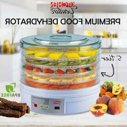 NEW 5 Tray Food Dehydrator Fruit Preserver Maker Commercial