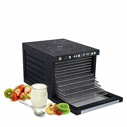 NEW BioChef Food Dehydrator - 6 S/Steel trays with timer & d