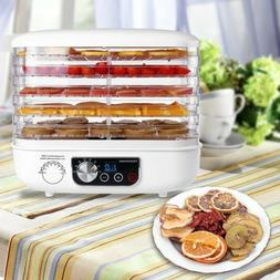 NEW HOMEMAXS Electric Countertop Food Jerky Dehydrator Prese