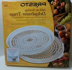 NEW set of 2 PRESTO Food Saver 06306 Add-On Nesting Dehydrat