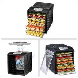 Professional Food Dehydrator 9 Stainless Steel Drying Racks