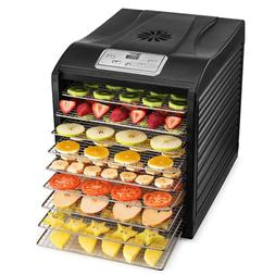 MAGIC MILL Professional Food Dehydrator, 9 Stainless Steel D