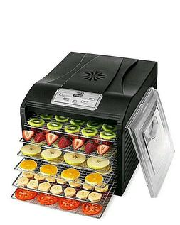 MAGIC MILL Professional Food Dehydrator Machine, 6 Stainless