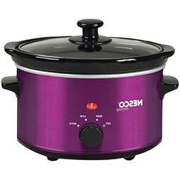 SC-150V Oval Slow Cooker, 1.5-Quart, Violet