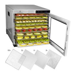 ChefWave 10 Tray Food Dehydrator with Stainless Steel Racks,