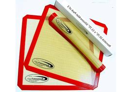 3-Pack of Premium SILICONE Reusable Non Stick Sheets for Sam